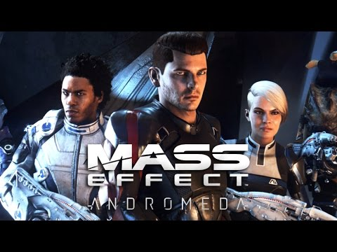 MASS EFFECT ANDROMEDA All Cutscenes (Game Movie) PS4 PRO 1080p HD