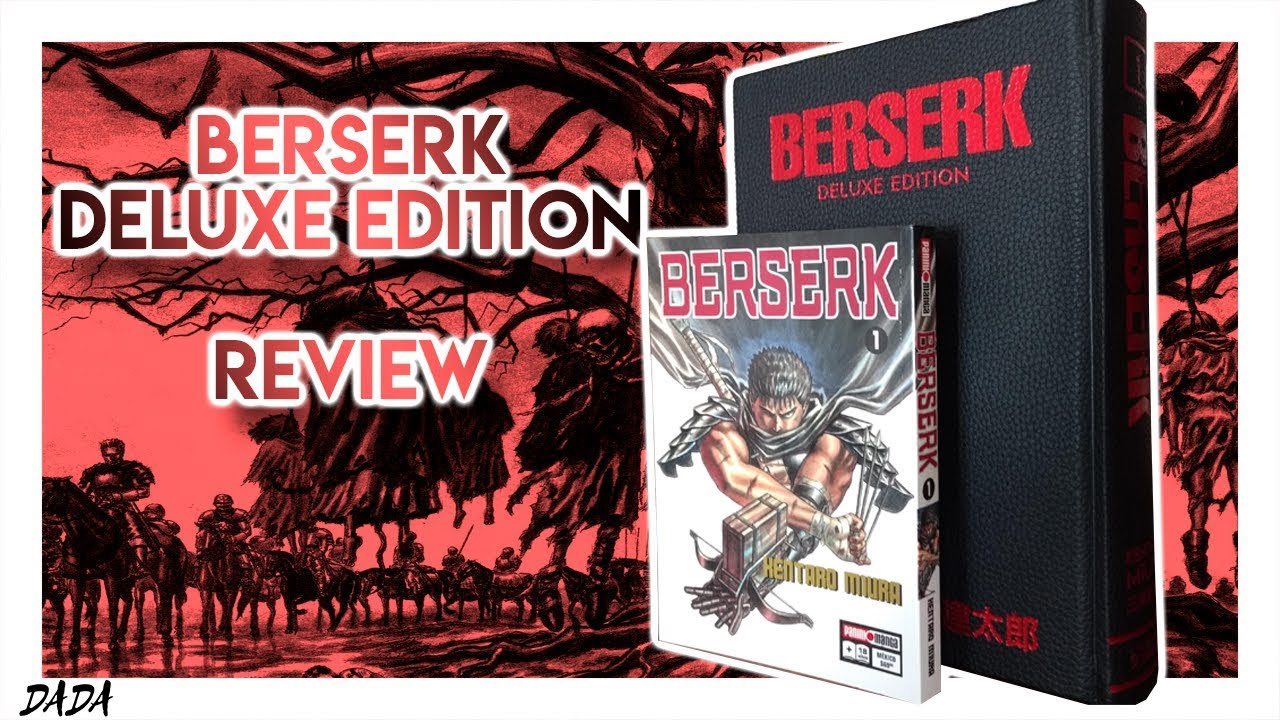 BERSERK DELUXE EDITION - REVIEW - VOLUME 1 - DadaReviews