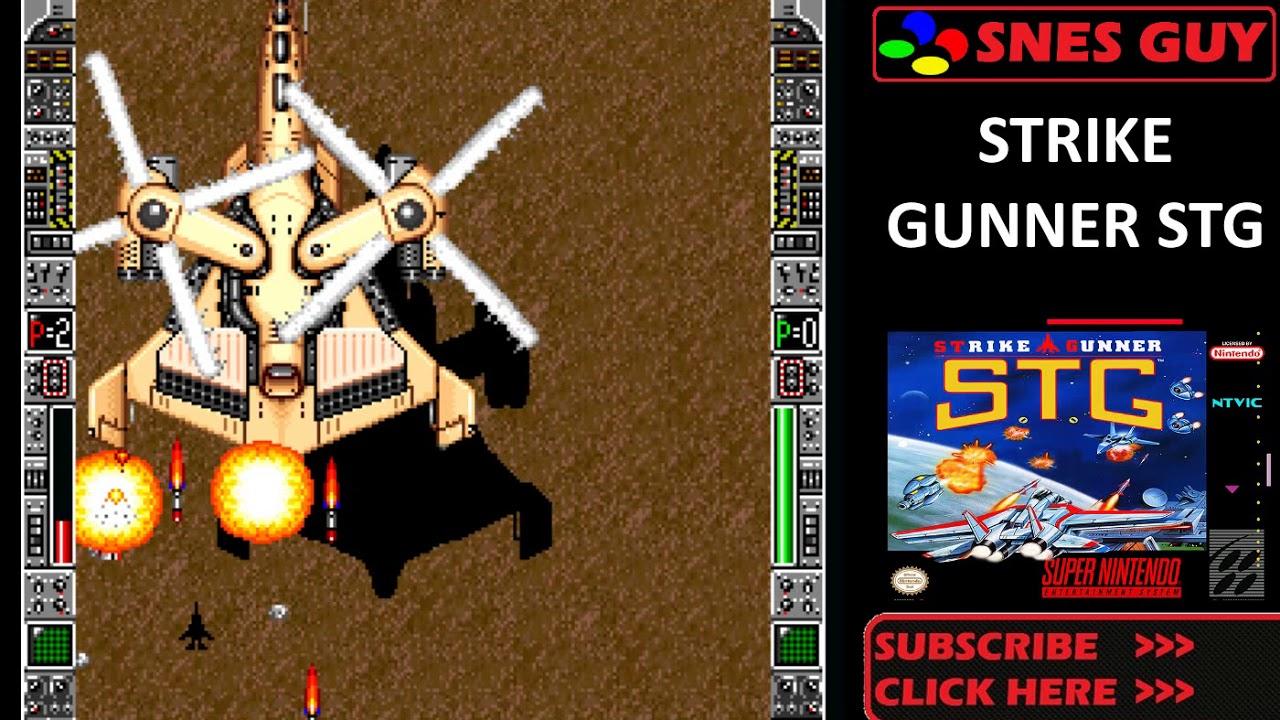 strike gunner stg snes