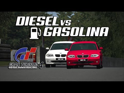 DIESEL vs GASOLINA | Gran Turismo 4 | PS2 (PCSX2) thumbnail