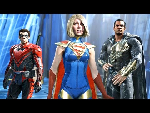 INJUSTICE 2 06: Força Total Contra o Superman - PS4 / Xbox One gameplay