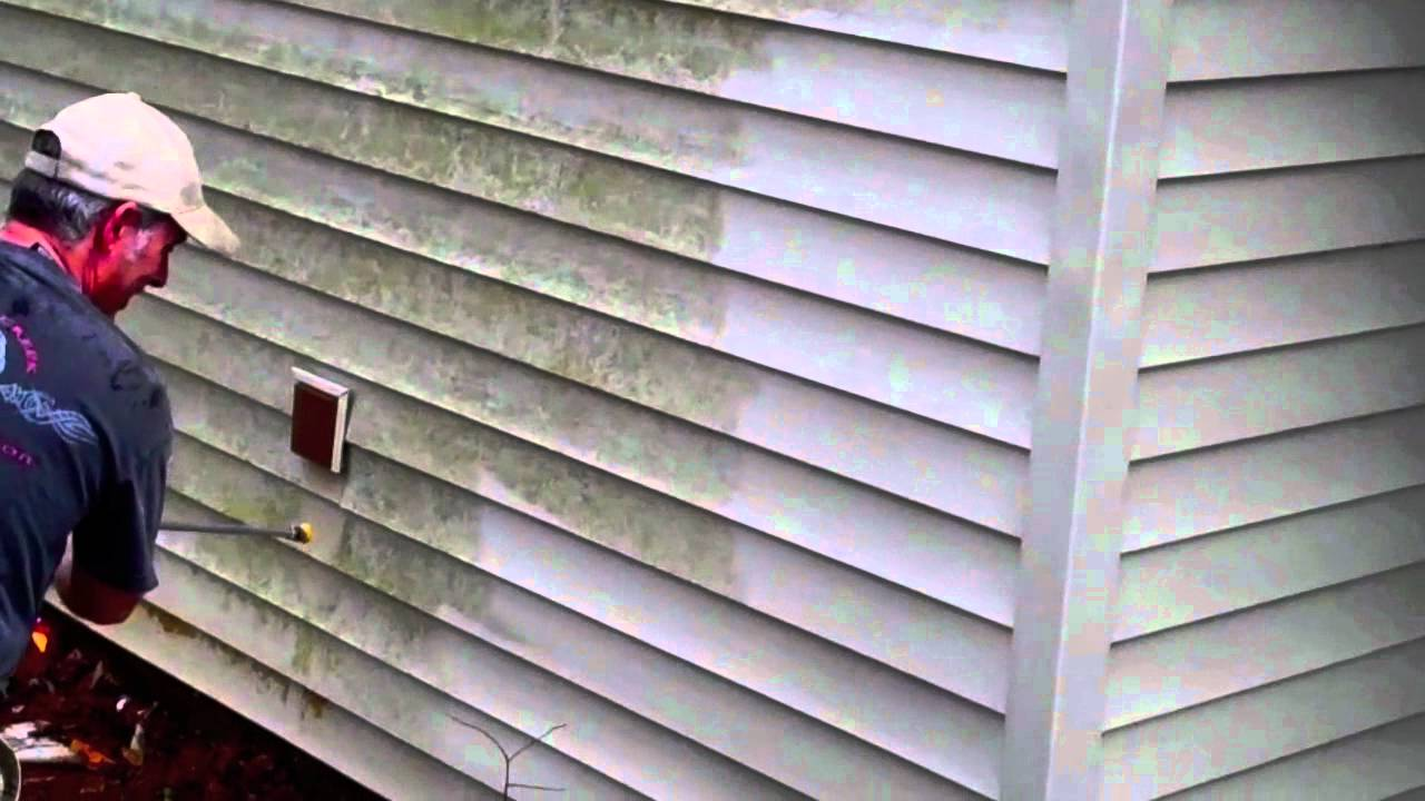 Atlanta Pressure Washing Siding Pressure Washing Youtube
