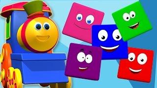 Bob der Zug | bob Zug Farbe Fahrt | Farben für Kinder lernen