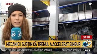 Răsturnare de situație în cazul metroului care a deraiat și a rămas suspendat la doi metri. Tre