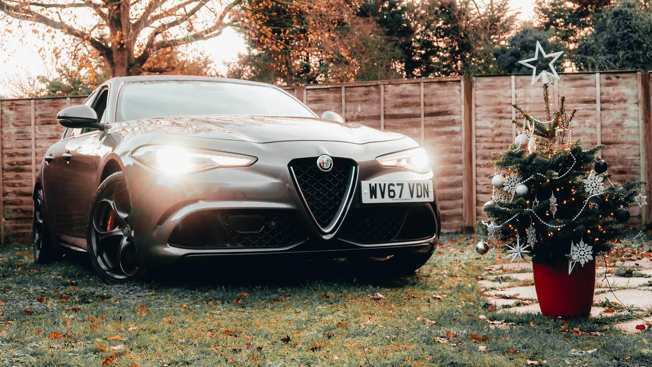 Giulia Quadrifoglio -Alfa Romeo - Christmas Dream