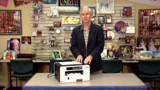 Setting the Ricoh SG 3110DN Alignment for Printing -