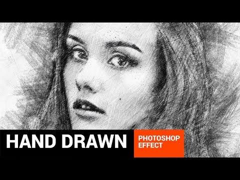 Pencilum - Real Hand Drawn Photoshop Action Tutorial