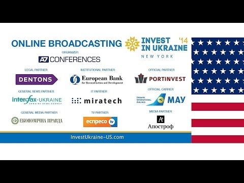 Invest in Ukraine '14, New York - English version