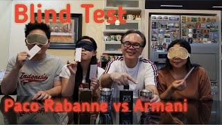 Gambar cover Blind Test  Paco Rabanne vs Armani - Parfum Review Indonesia