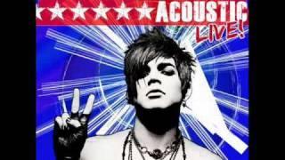 Adam Lambert Aftermath Acoustic