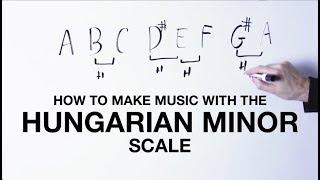 Gambar cover How To Make Music With The Hungarian Minor Scale (aka Double Harmonic Minor)