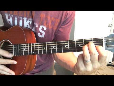 Travis Tritt - Help Me Hold On (Beginner Fingerpicking Tutorial)