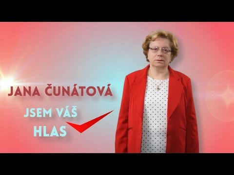 VIDEOSPOT: Jana Čunátová (KSČM)