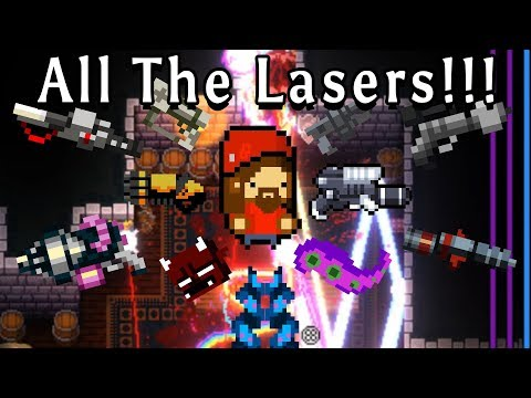 Enter the Gungeon | EVERY LASER! | Custom Rungeon