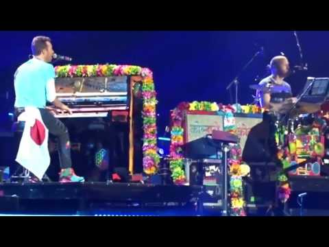 Coldplay  All I can think about is you Multicam  in Tokyo Dome