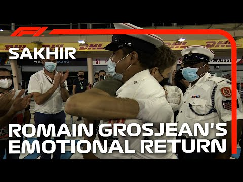 Romain Grosjean Meets The People Who Helped Save His Life |