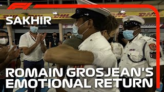 Romain Grosjean Meets The People Who Helped Save His Life | 2020 Sakhir Grand Prix