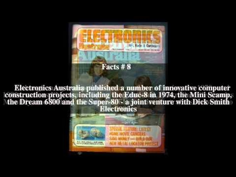 Electronics Australia Top # 17 Facts