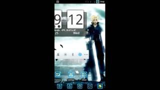 Final Fantasy VII Live Wallpaper Peview