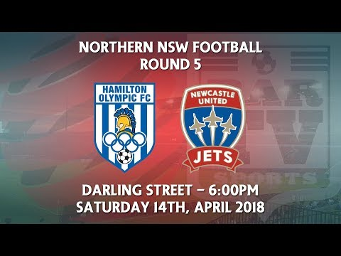 2018 NNSWF NPL Round 5 - Hamilton Olympic FC v Newcastle Jets Academy