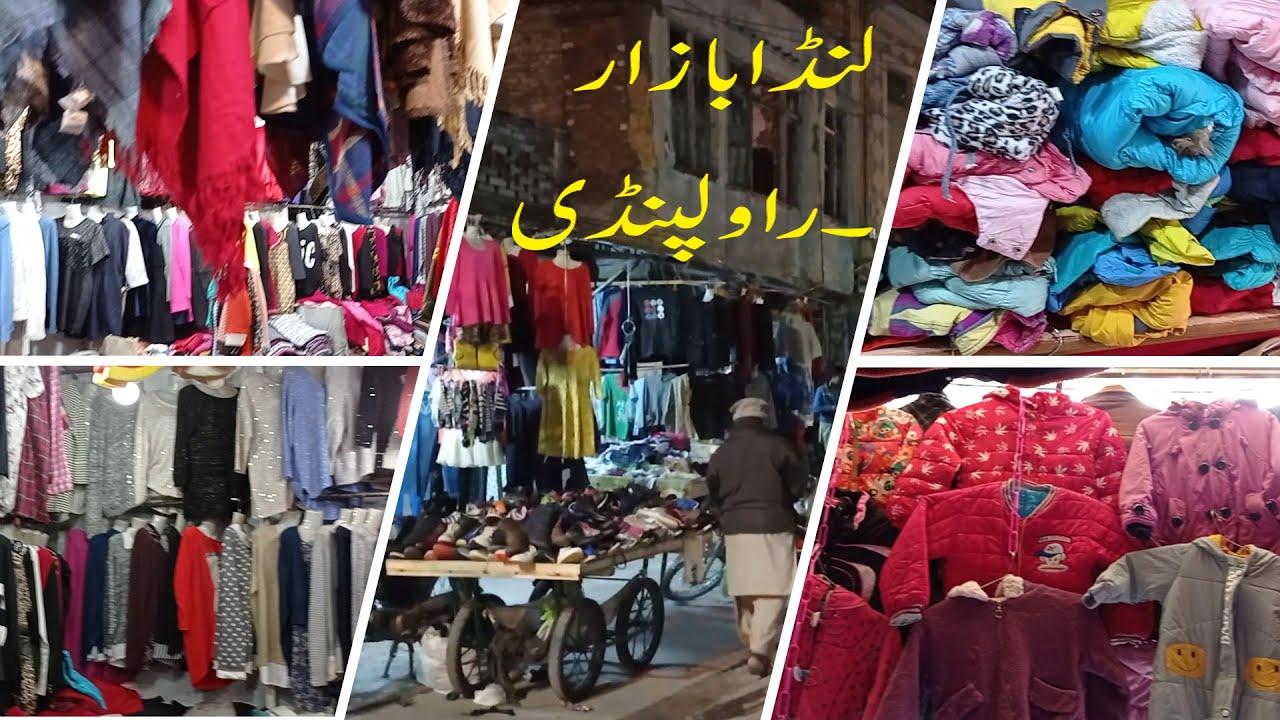 Landa Bazar Rawalpindi Sweater Jackets Shrugs Cape Shawls Shirts And Other Used Imported Stuff Youtube