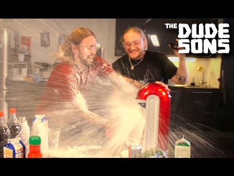 SODASTREAM EXPERIMENTS! - Carbonate Everything Challenge!