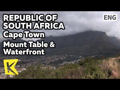 【K】South Africa Travel-Cape Town[남아공 여행-케이프타운]테이블 산과 워터프론트 항구/Mount Table/Waterfront/Port/Lion head