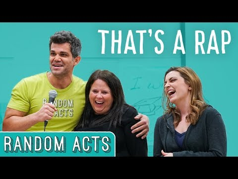 Teacher Surprise Rap  Random Acts