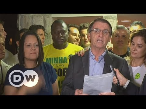 Far-right candidate wins Brazil's presidential election | DW English