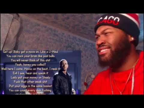 Eminem  Untitled Lyrics  REACTION