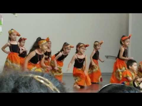 Amy's prek-4 2017 Ivory Coast dance