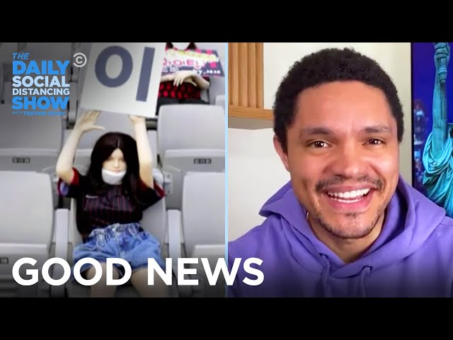 Chuck E. Cheese's Pizza Scheme & South Korea's Seat Fillers | The Daily Social Distancing Show