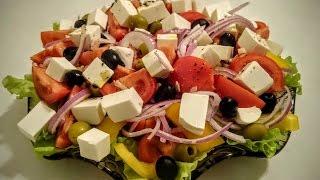 Греческий салат рецепт Секрета как приготовить греческий салат вкусно и быстро