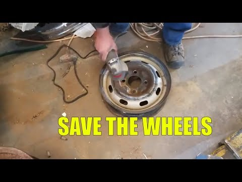 "Day #7/8 - 71 VW Beetle Wheel Restoration and Painting - ""Do it for MOM"""