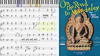On the Road to Mandalay by Oley Speaks (1907, piano solo)