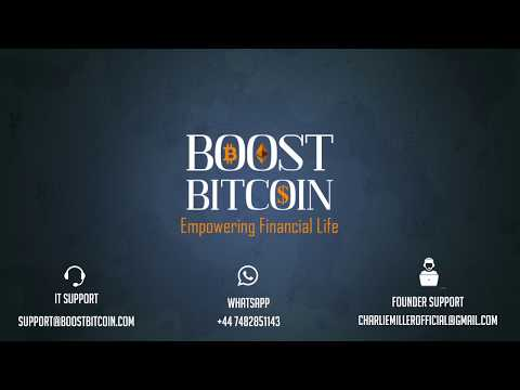 Boost Bitcoin Business Plan!