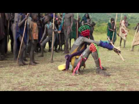 Donga (Suri stick fight) - Impressions - Tulgit (Surma, Ethiopia)