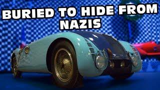 Bugatti Buried Underground To Keep From Nazis