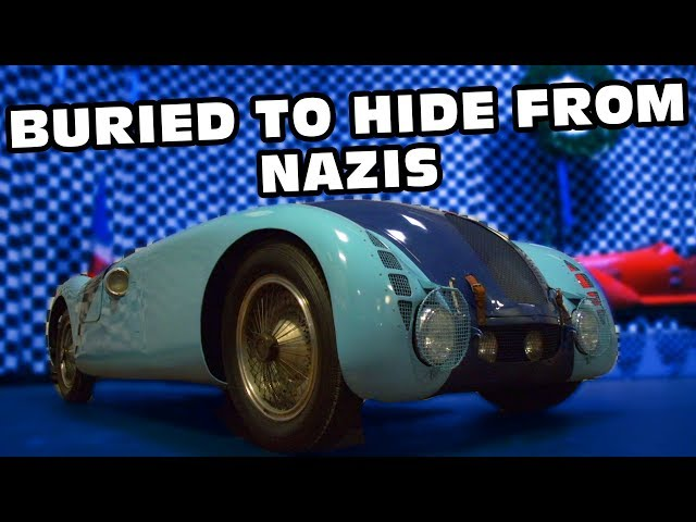 Bugatti Buried Underground To Keep From Nazis