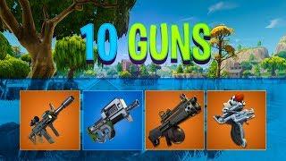 10 new guns coming to Fortnite..