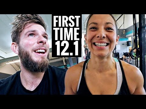 CROSSFIT OPEN Workout 12.1 for the FIRST TIME