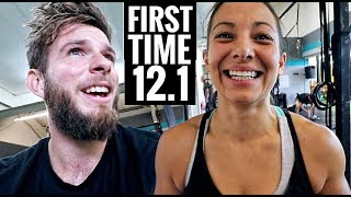 7 MINUTES of BURPEES (Crossfit Open Workout 12.1 for the first time)
