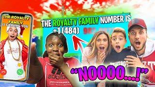 EXPOSING THE REAL ROYALTY FAMILY'S NUMBER! OMG FERRAN ANSWERED! Kingferran royalty fam Andrea espada