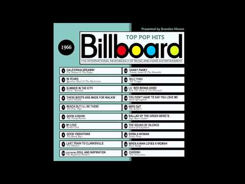Billboard Top Pop Hits - 1966