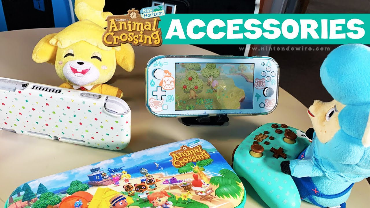 Animal Crossing New Horizons Accessories Review Youtube