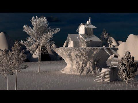 Blender 3D | Ancient buildings | Старинные здания