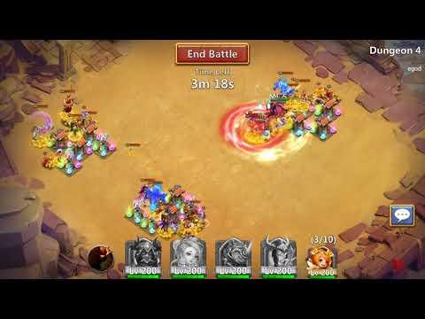 Arid Ruins - Castle Clash