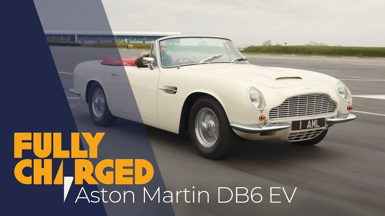 Classic car electric conversion: Aston Martin DB6 Volante mk2 | Fully  Charged