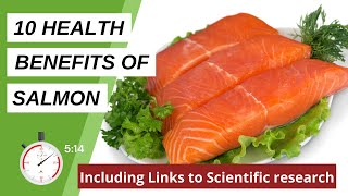 10 Health Benefits oḟ Salmon | Includes Links to Scientific Research