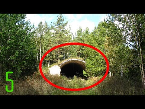 5 Secret Military Bases Hidden Underground